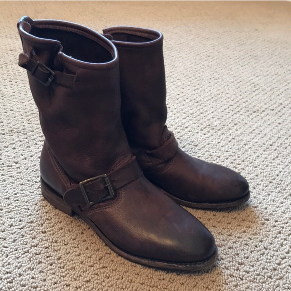 """836b78e85ad 10"""" Pull-On Engineer Boot 2200"""